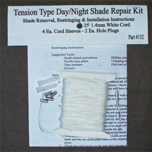 Small Shade Repair Kit