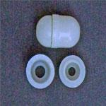 Plastic cord condenser